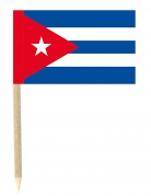 50 bandierine con stecchino di Cuba