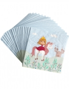20 Tovaglioli di carta Principessa 33 x 33