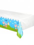 Tovaglia in plastica di Peppa Pig™ colorata
