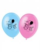 6 palloncini con stampa Peppa Pig™