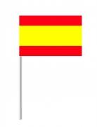 Bandiera di carta della Spagna