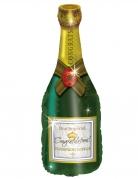 Palloncino alluminio bottiglia di champagne