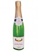 Bottiglia di champagne gonfiabile