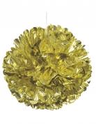 Sfera decorativa color oro 40 cm