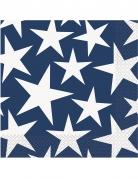 16 tovaglioli di carta stelle USA