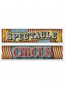 2 striscioni circo vintage