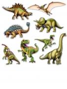 8 sagome in cartone dinosauri