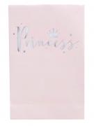 8 sacchetti regalo di carta rosa Princess