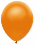 50 palloncini in lattice arancione metallizzato