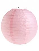 2 lanterne color rosa 20 cm