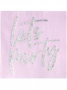 16 tovaglioli di carta Let's Party iridescente