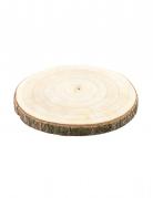 Rondella in legno naturale