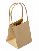 6 sacchetti regalo carta kraft