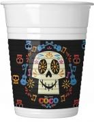 8 Bicchieri in plastica multicolore Coco™ 20 cl