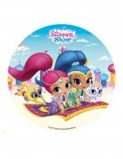 Disco di zucchero Shimmer & Shine™ 16 cm