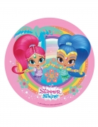 Disco di ostia Shimmer and Shine™ rosa 20 cm