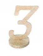 Centrotavola color champagne numero 3