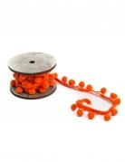Nastro di pon pon arancioni