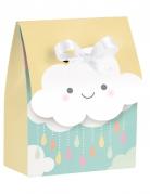 12 sacchetti regalo piccola nuvola con nastro