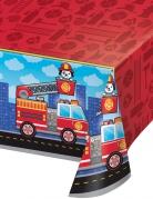Tovaglia in plastica camion dei pompieri