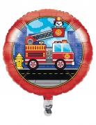 Palloncino alluminio camion dei pompieri