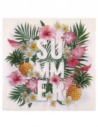 20 tovaglioli di carta Tropical Paradise