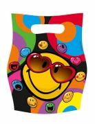 6 sacchetti regalo Smiley World™