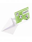 8 inviti di compleanno festa calcio
