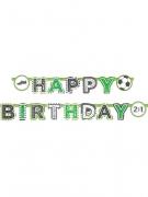Ghirlanda di carta calcio Happy Birthday