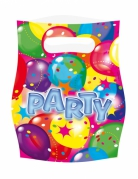 6 sacchetti palloncini party