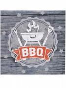 20 tovaglioli di carta BBQ party