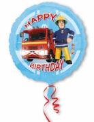 Palloncino alluminio Happy Birthday Sam il pompiere™