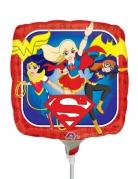 Mini palloncino alluminio quadrato DC Super Hero Girls™
