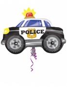 Palloncino alluminio macchina della polizia