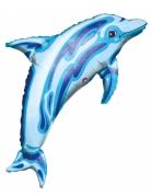 Palloncino alluminio delfino blu