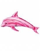 Mini palloncino alluminio delfino rosa