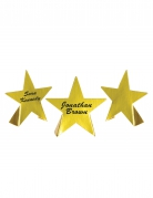 8 segnaposto stelle di Hollywood dorate