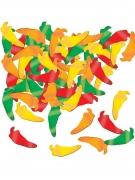Coriandoli da tavola peperoncini colorati