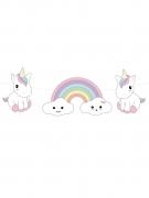 Ghirlanda di carta baby unicorno
