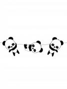 Ghirlanda di carta baby panda 3.5 m
