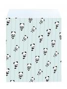 25 sacchetti regalo di carta baby panda