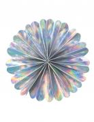 Rosone in carta iridescente 20 cm