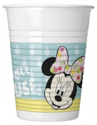 8 bicchieri in plastica Minnie™ tropical