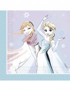 20 tovaglioli lilla e celesti Frozen™