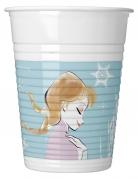 8 bicchieri in plastica Frozen™