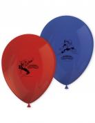 8 palloncini rossi e blu in lattice Spiderman™