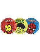 8 piatti in cartone colorati Avengers™ 23 cm