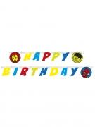 Ghirlanda colorata Happy Birthday Avengers™
