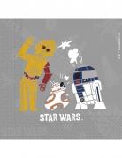 20 tovaglioli di carta Star Wars Forces of destiny™