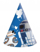 6 cappellini in cartone Star Wars Forces of destiny™